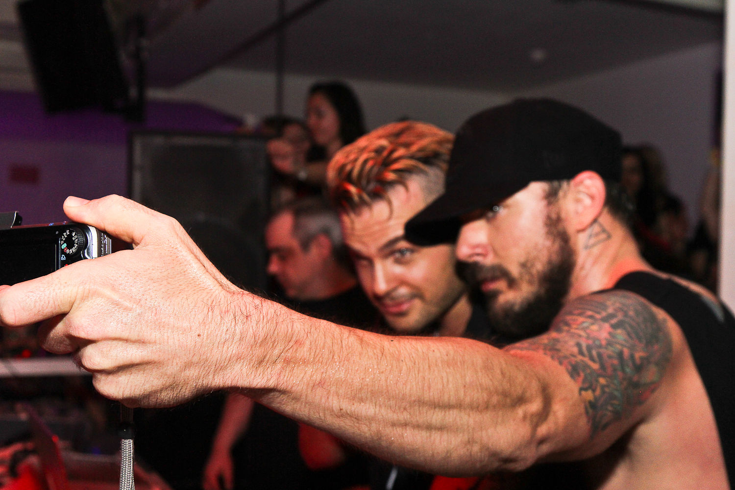 Shannon Leto and Antoine Becks