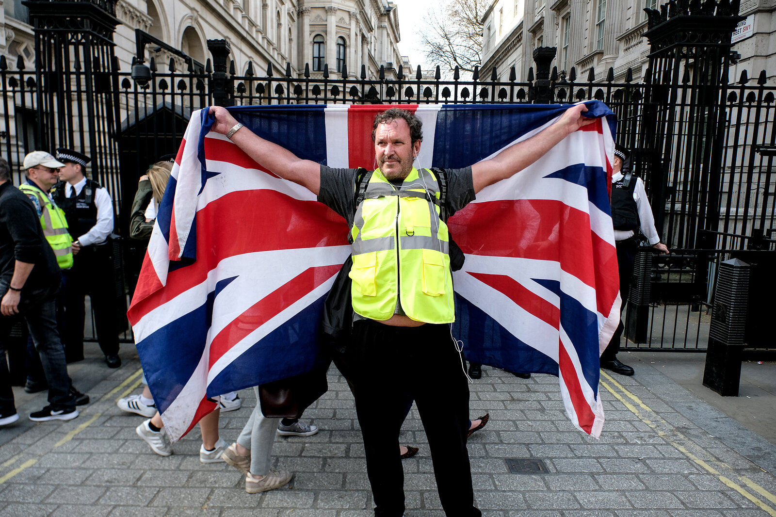 Yellow Vest UK Protestor