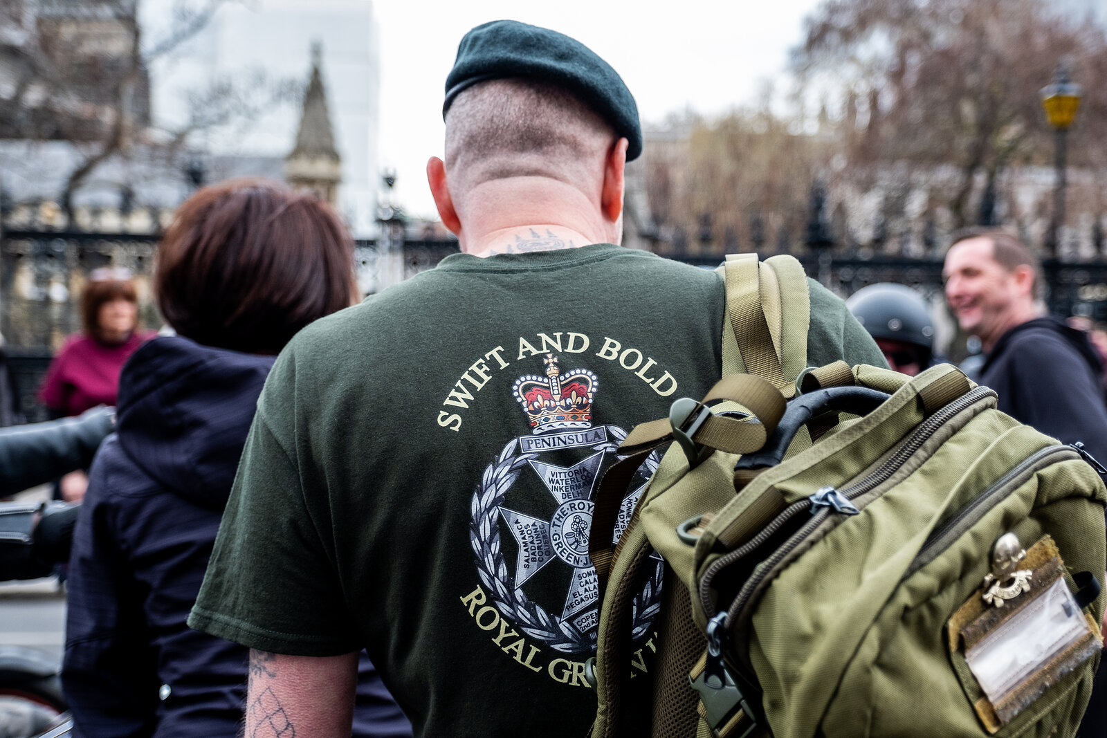 Soldier F Protest London