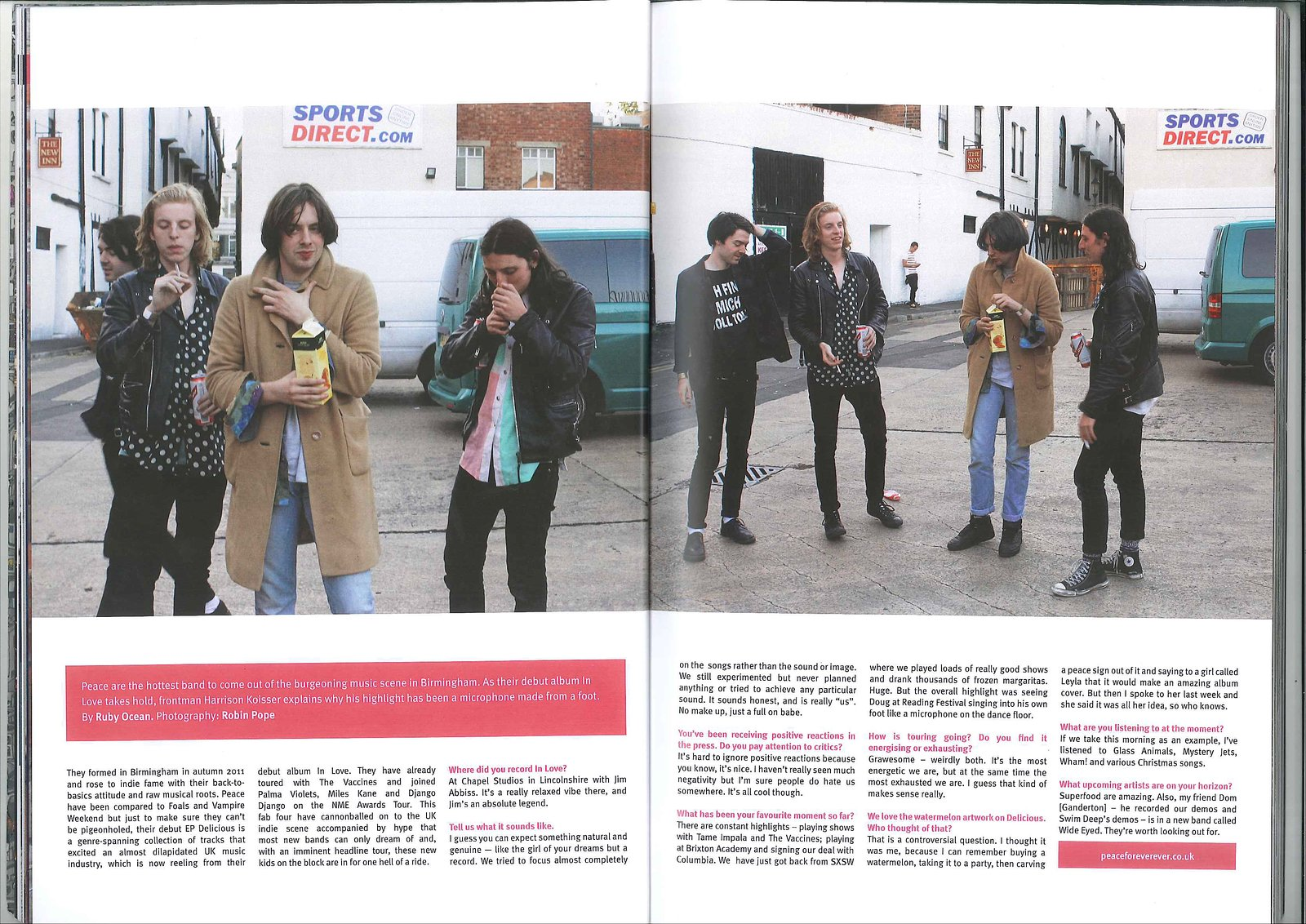 Peace -Volume Magazine