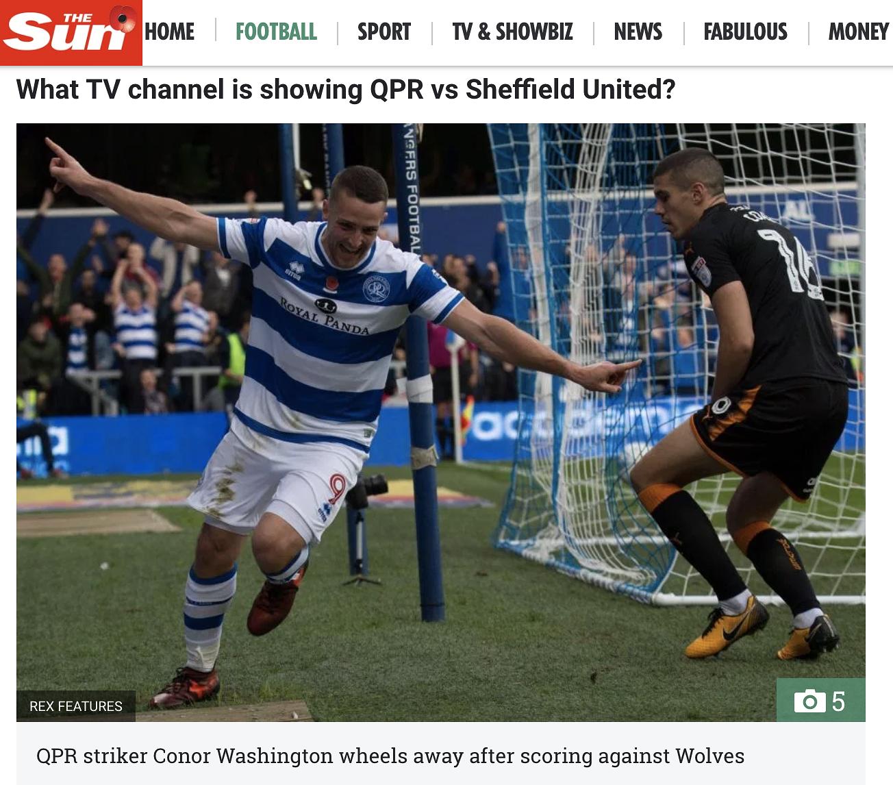 QPR Vs Wolverhampton Wanderers