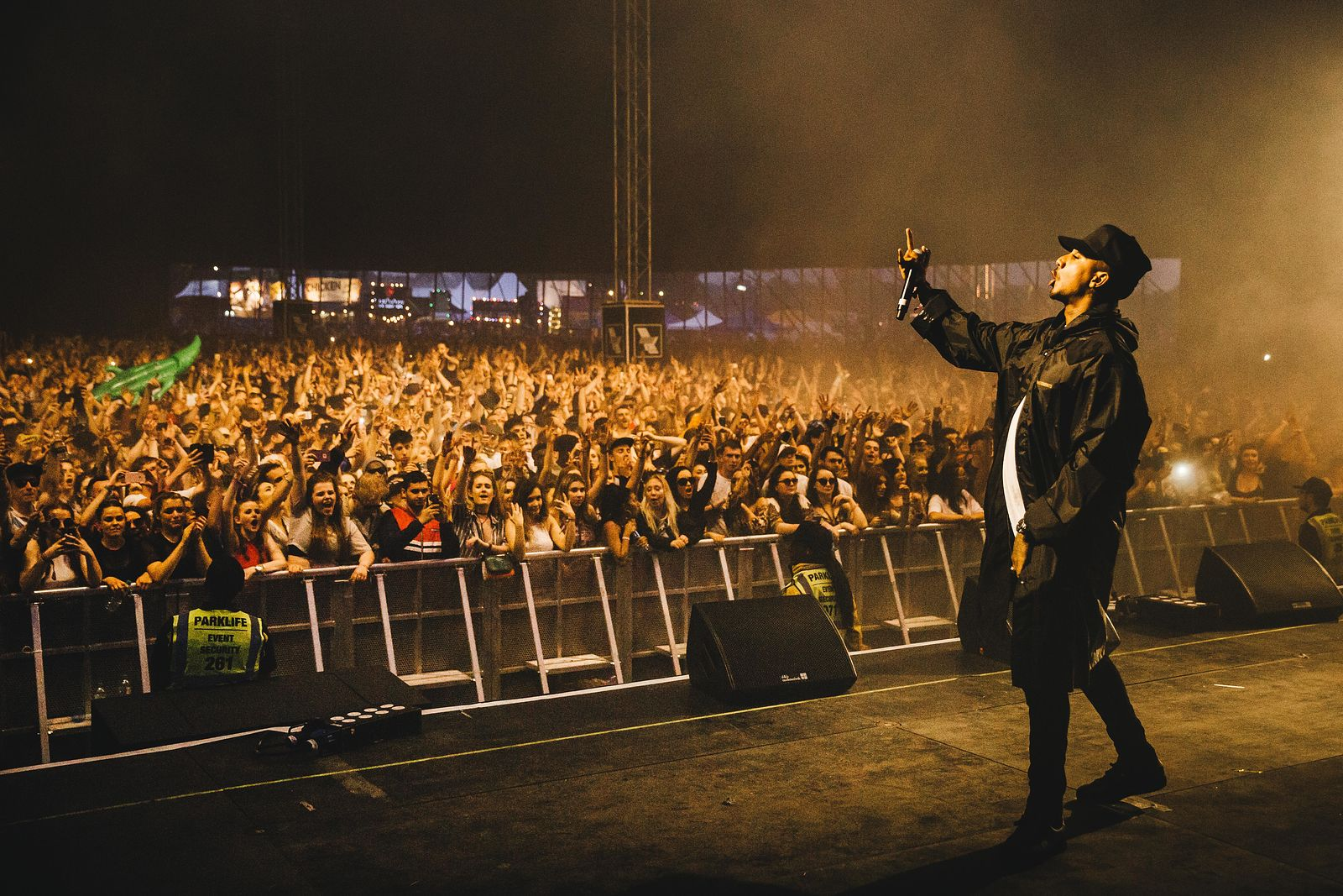 Chase & Status with MC Rage