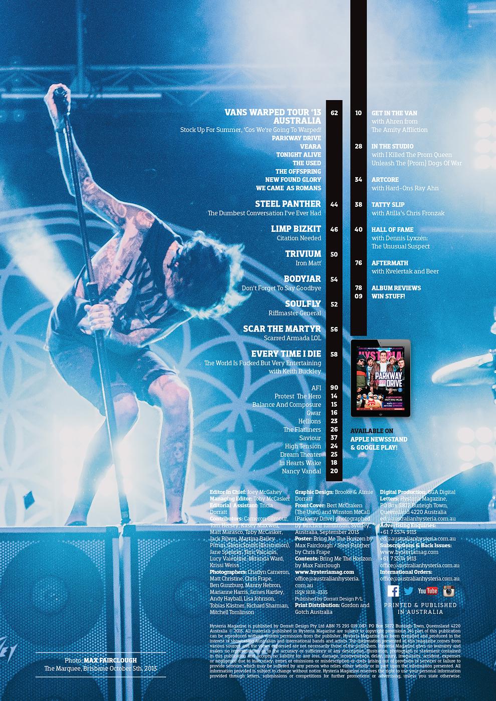 Hysteria Magazine