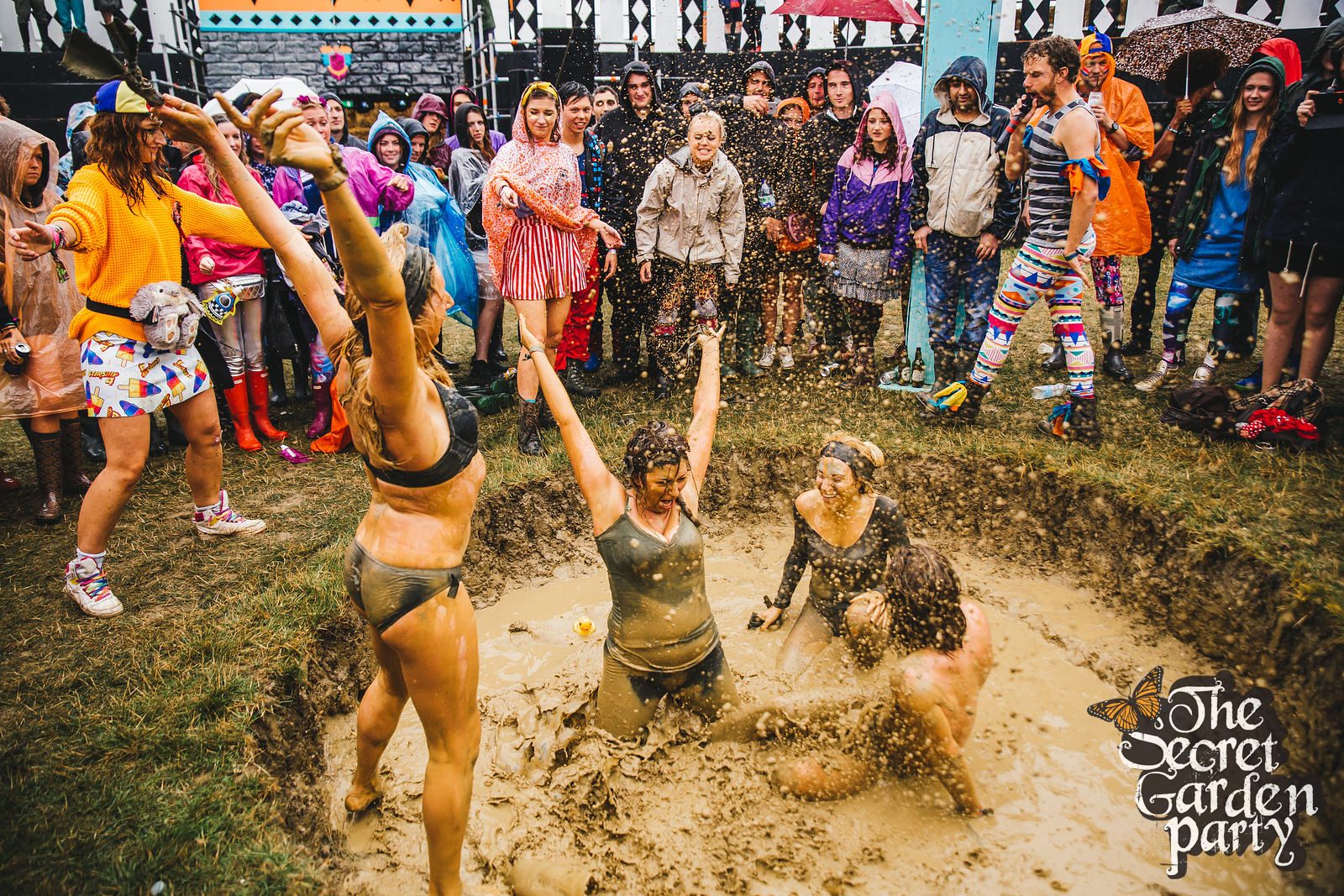 Secret Garden Party | 2015 | Mud Wrestling | Highlights 2015