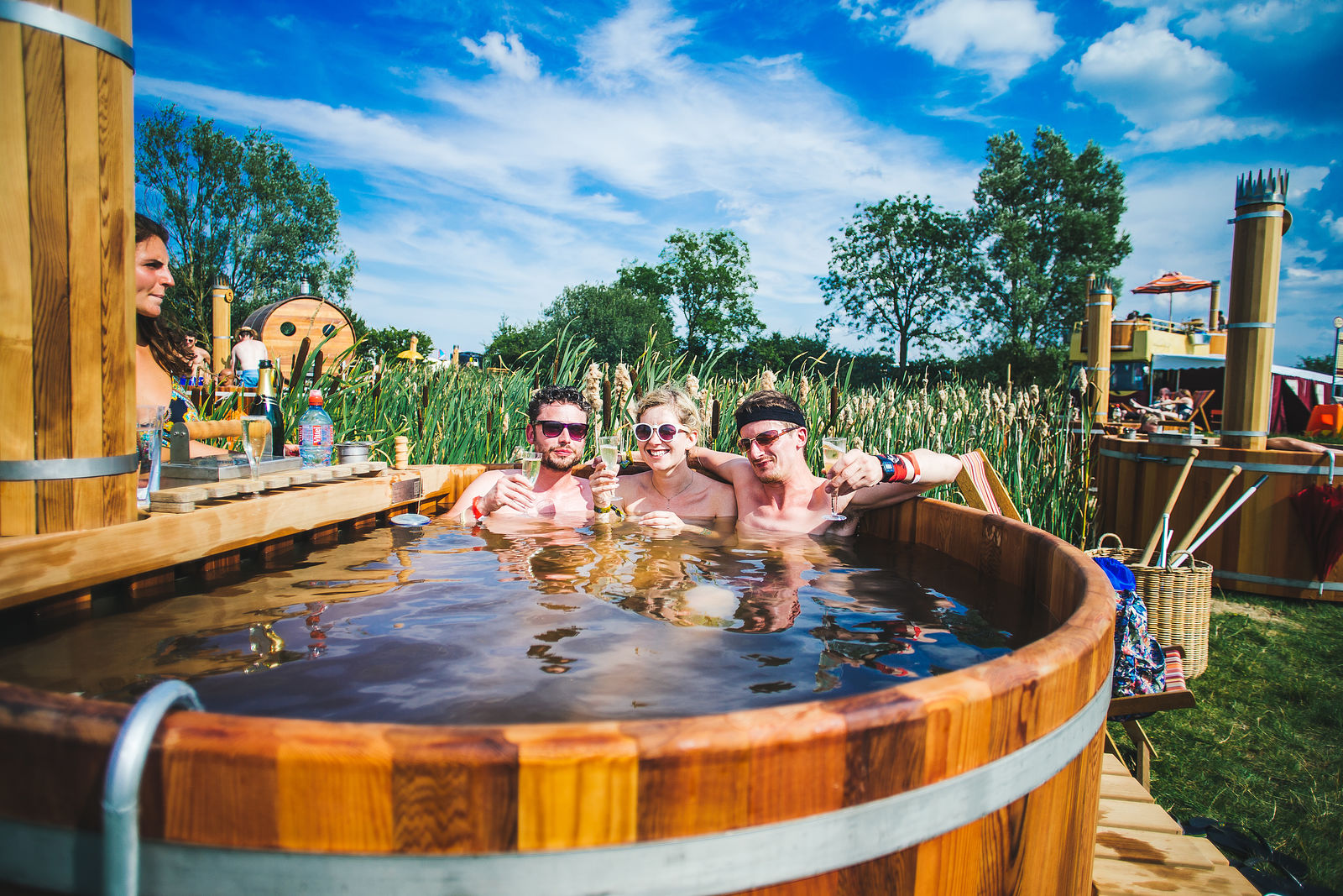 Bathing Under The Sky Hot Tubs