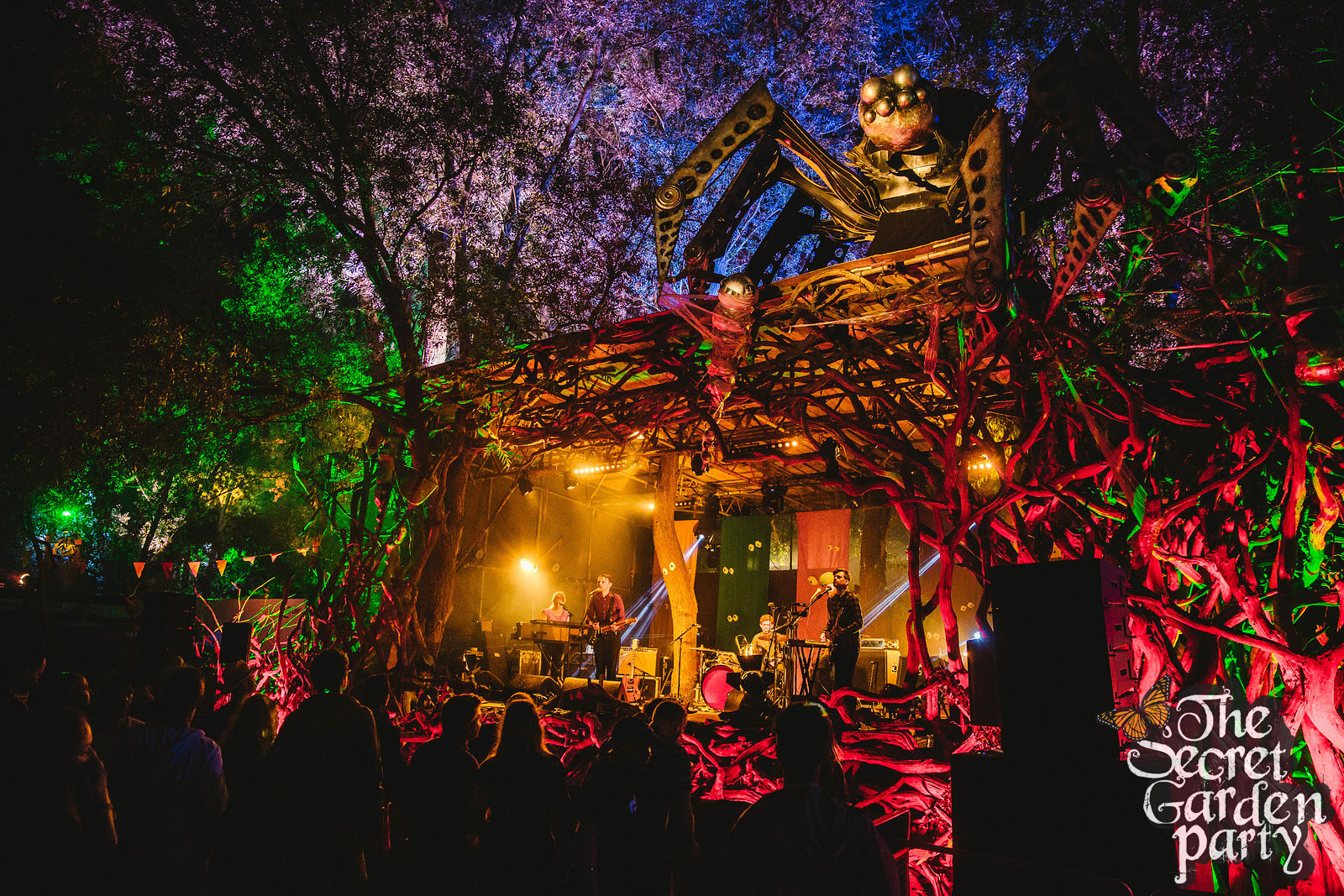 Secret Garden Party | 2016 | Field Music | Where The Wild Things Are