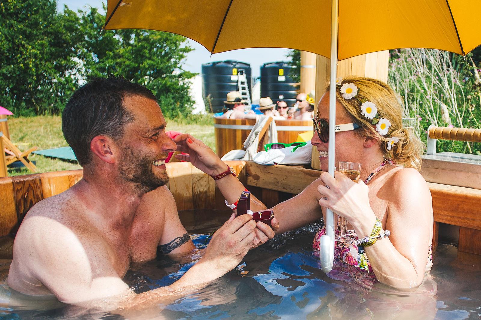 Hot Tub Proposal