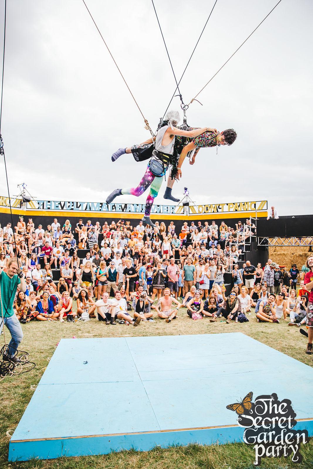 Aerial Sock Wrestling