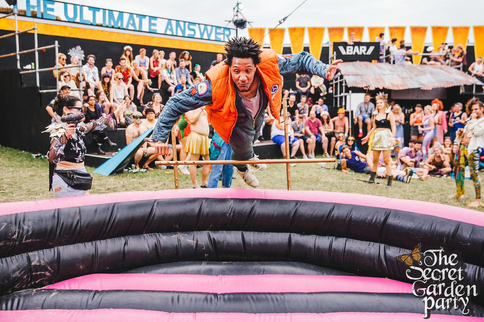 Get Drunk High Jump