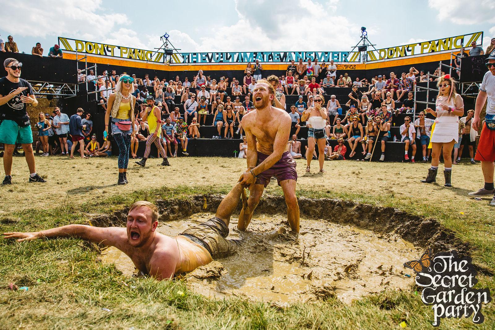Secret Garden Party | 2016 | Mud Wrestling | People