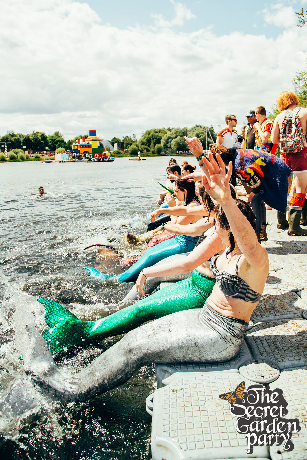 Secret Garden Party | 2015 | Mermaid | The Lake