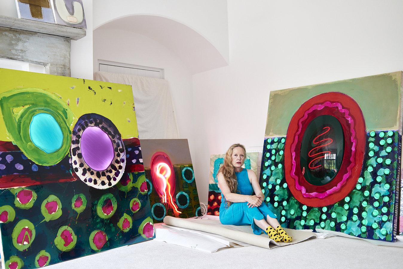 Zheni Warner, Artist