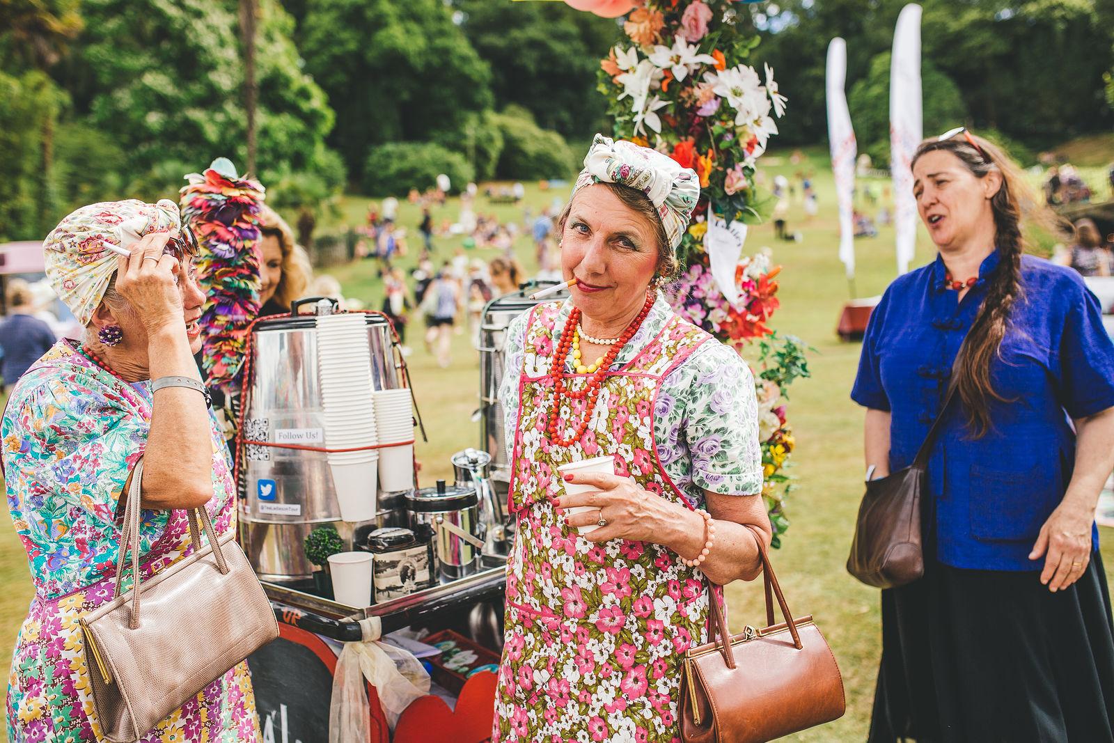 Tea Ladies