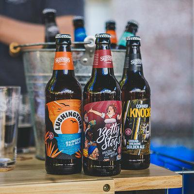Skinners Beer Tasting