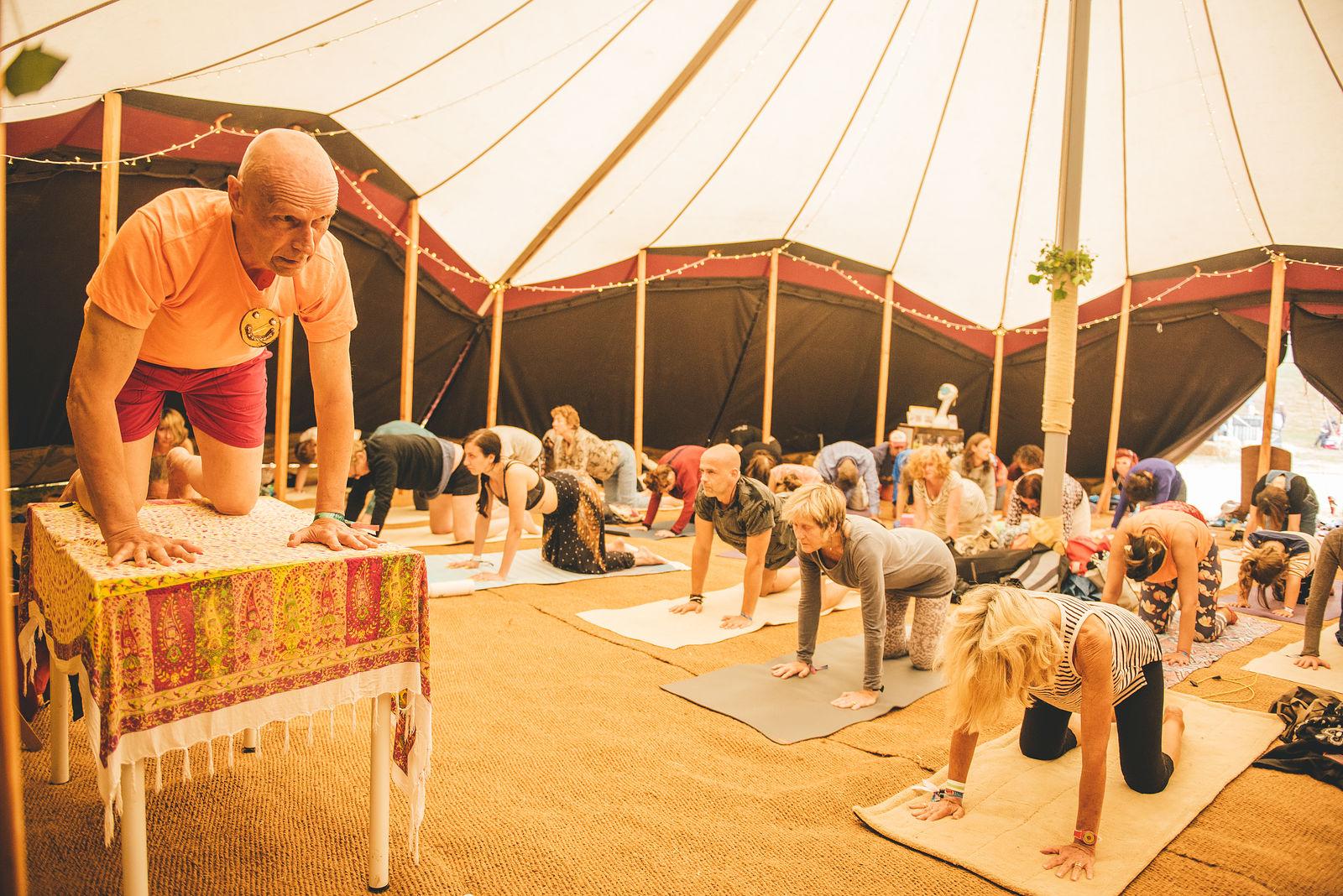 Yoga with Andrew Logan