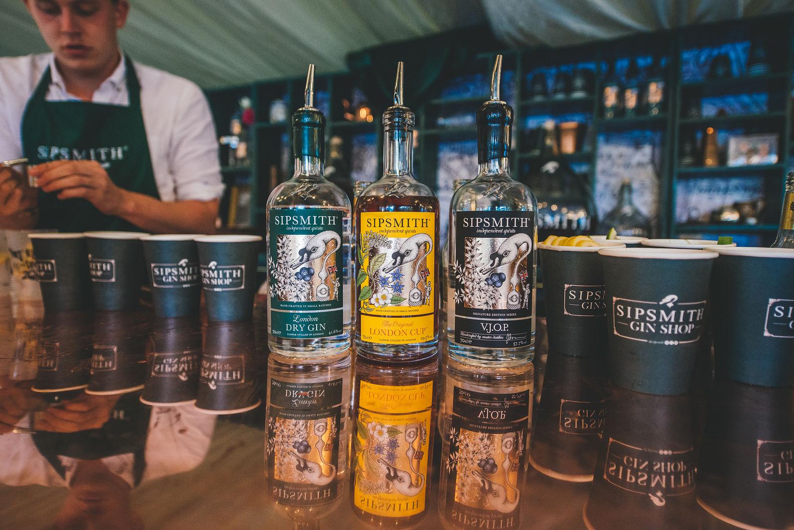 Sipsmith's Gin Bar