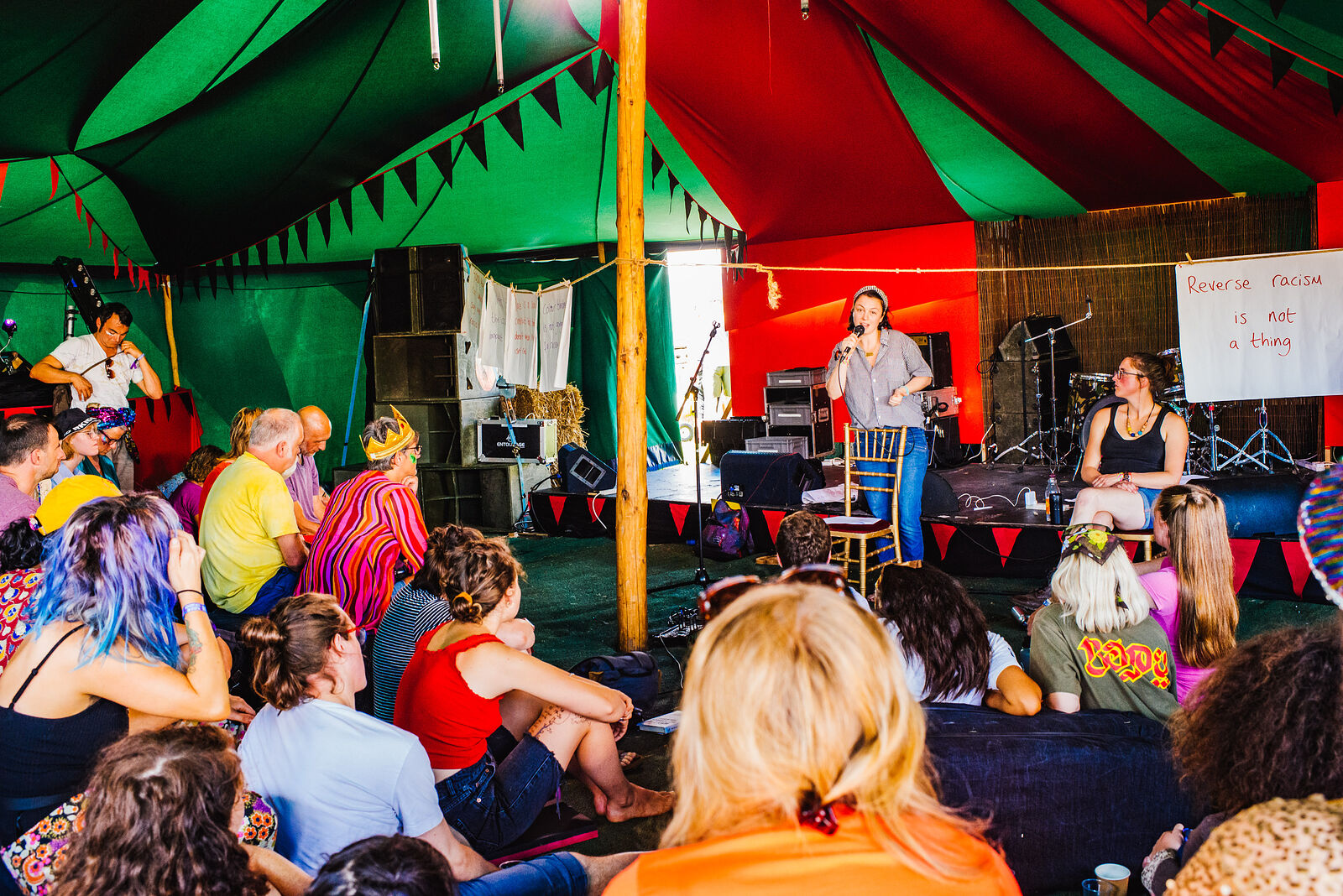Pop-up Storytelling with the Beehive Collective