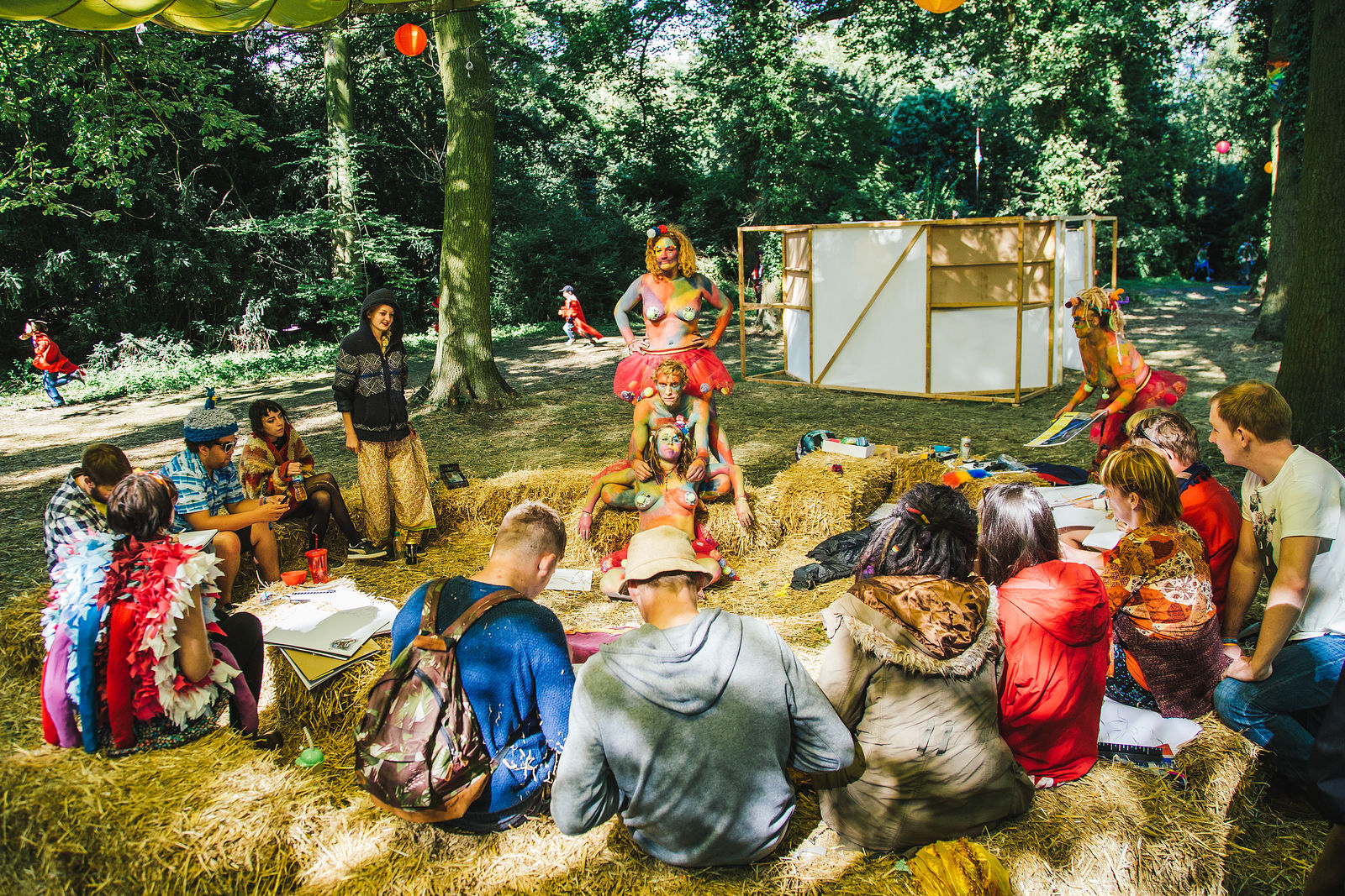Shambala Festival | Gallery | Life Drawing Workshop | Saturday
