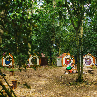 Hobbit Houses - Boutique Camping