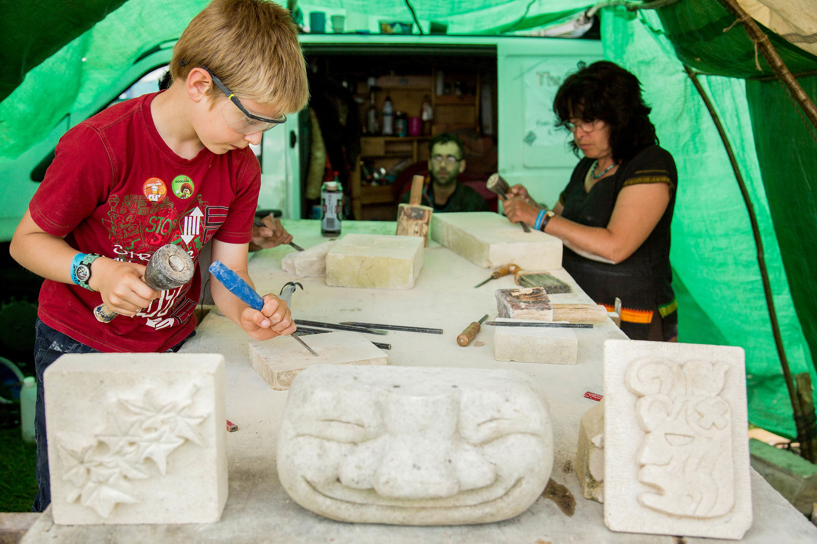 The Peripatetic Stone Carvers