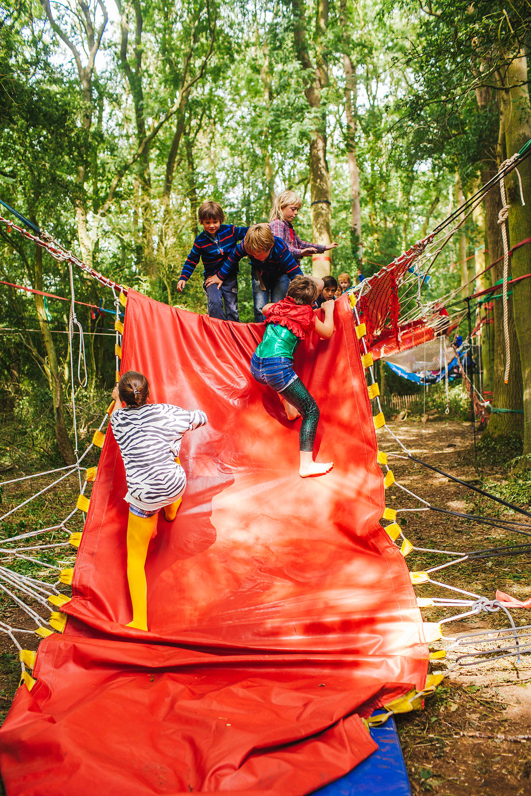 Woodland Tribe Adventure Playground