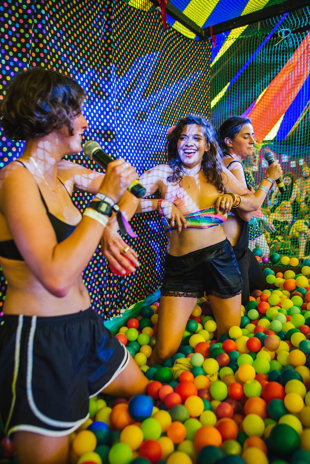 Ball Pit Karaoke