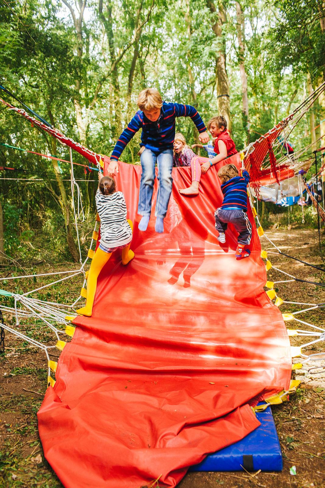 Woodland Tribe Adventure Playground