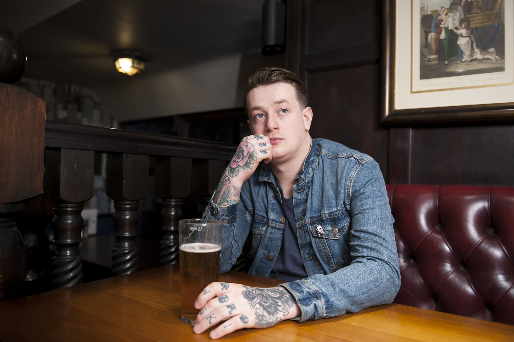 James Veck-Gilodi // Deaf Havana // Rock Sound 2014