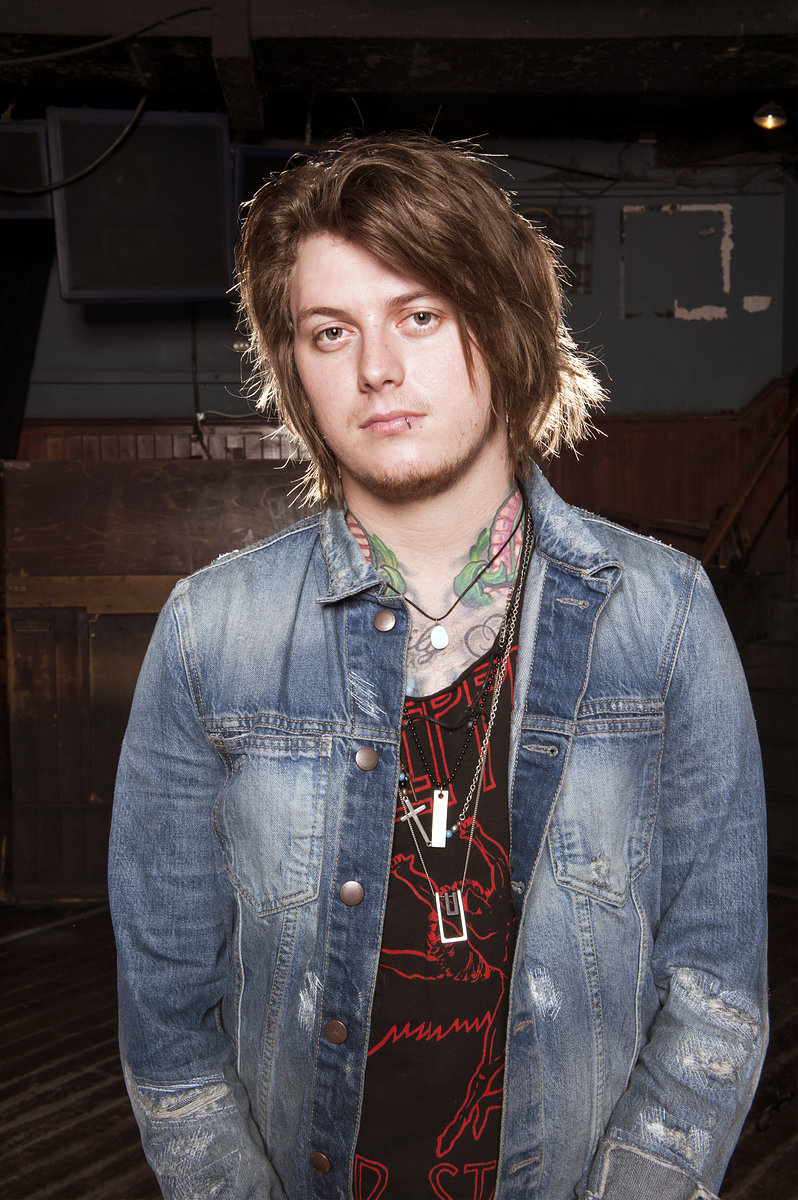Ben Bruce // Asking Alexandria // Rock Sound 2015