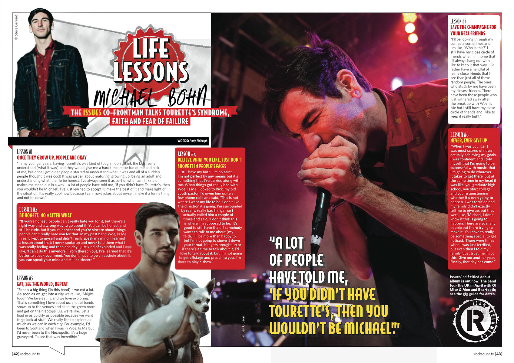 Issues // Rock Sound, April 2014