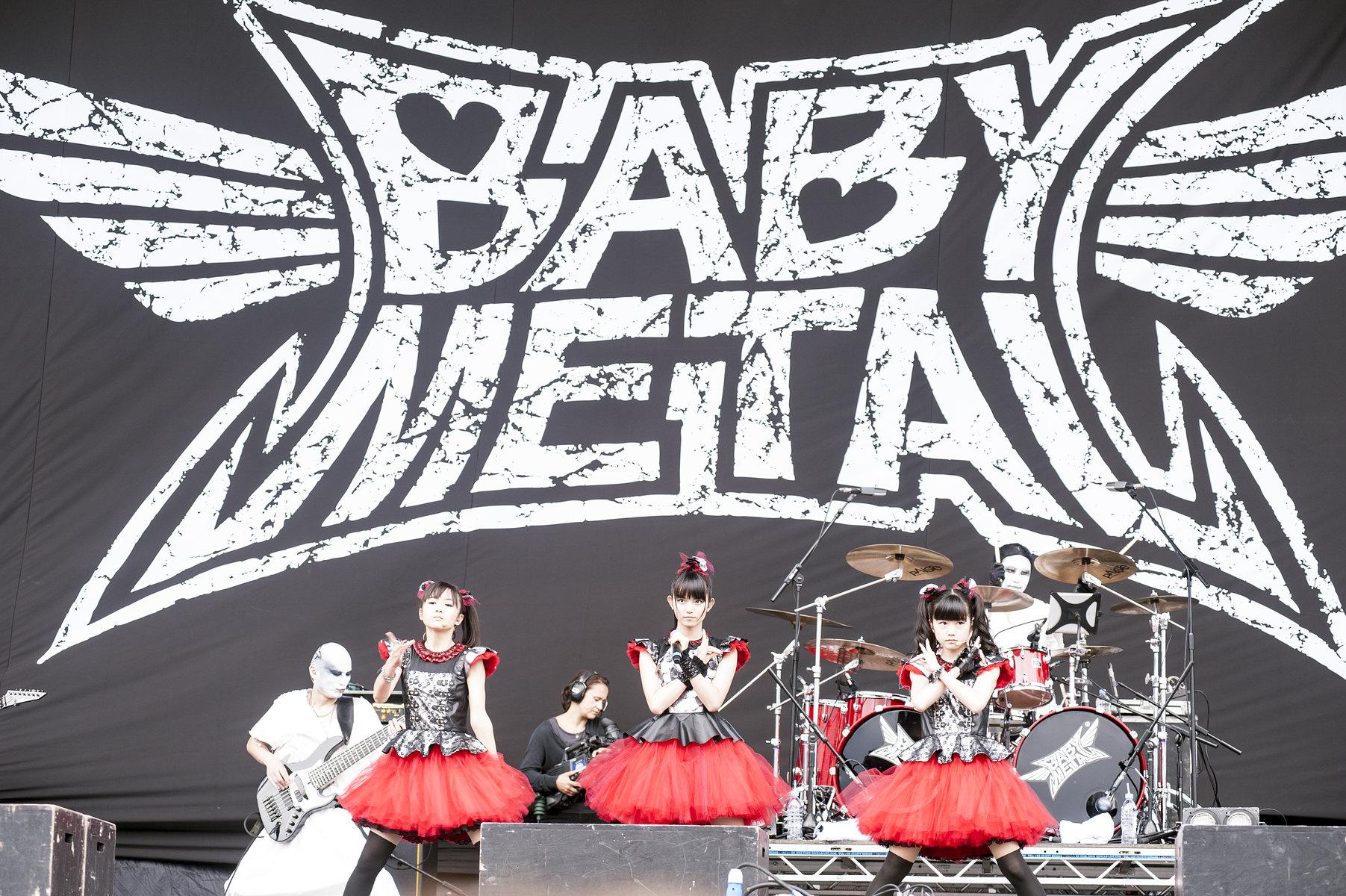 Baby Metal // Sonisphere 2014