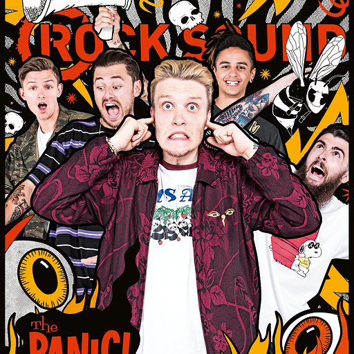 Neck Deep - The Panic Rock Sound //  August 2017