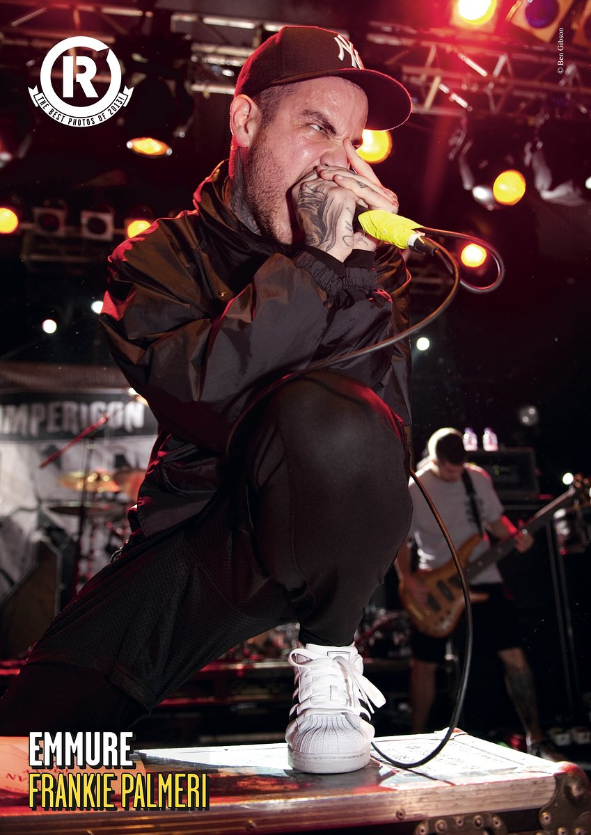 Emmure // Best Photos of 2013 // Rock Sound, January 2014