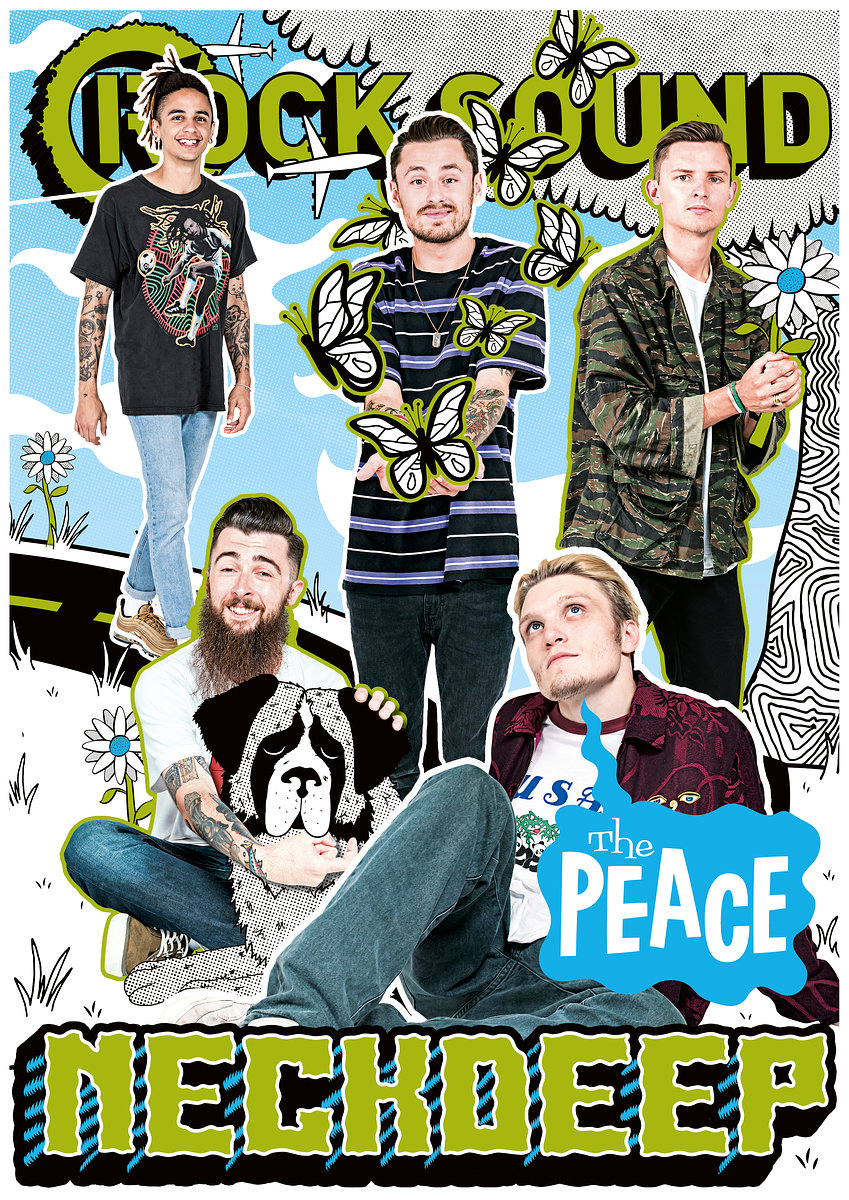 Neck Deep - The Peace Rock Sound //  August 2017