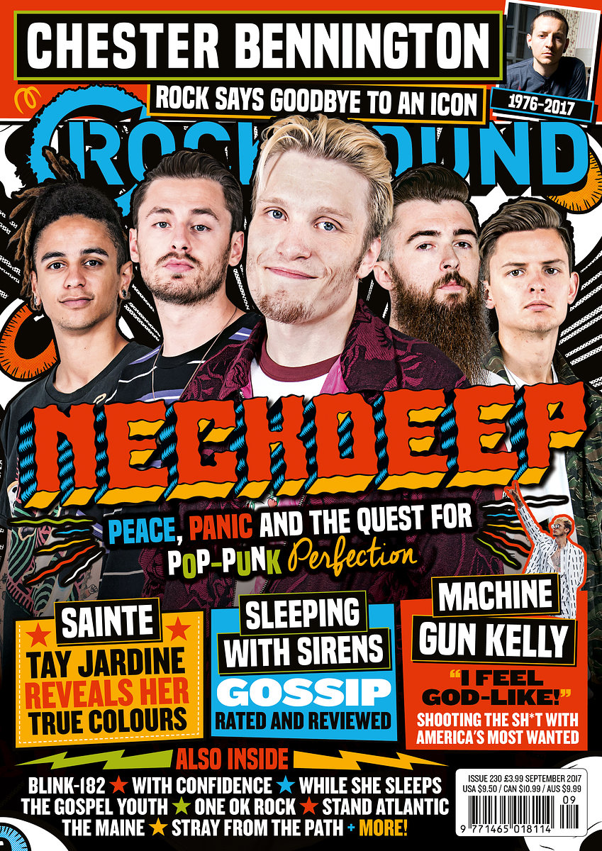 Neck Deep Rock Sound //  August 2017