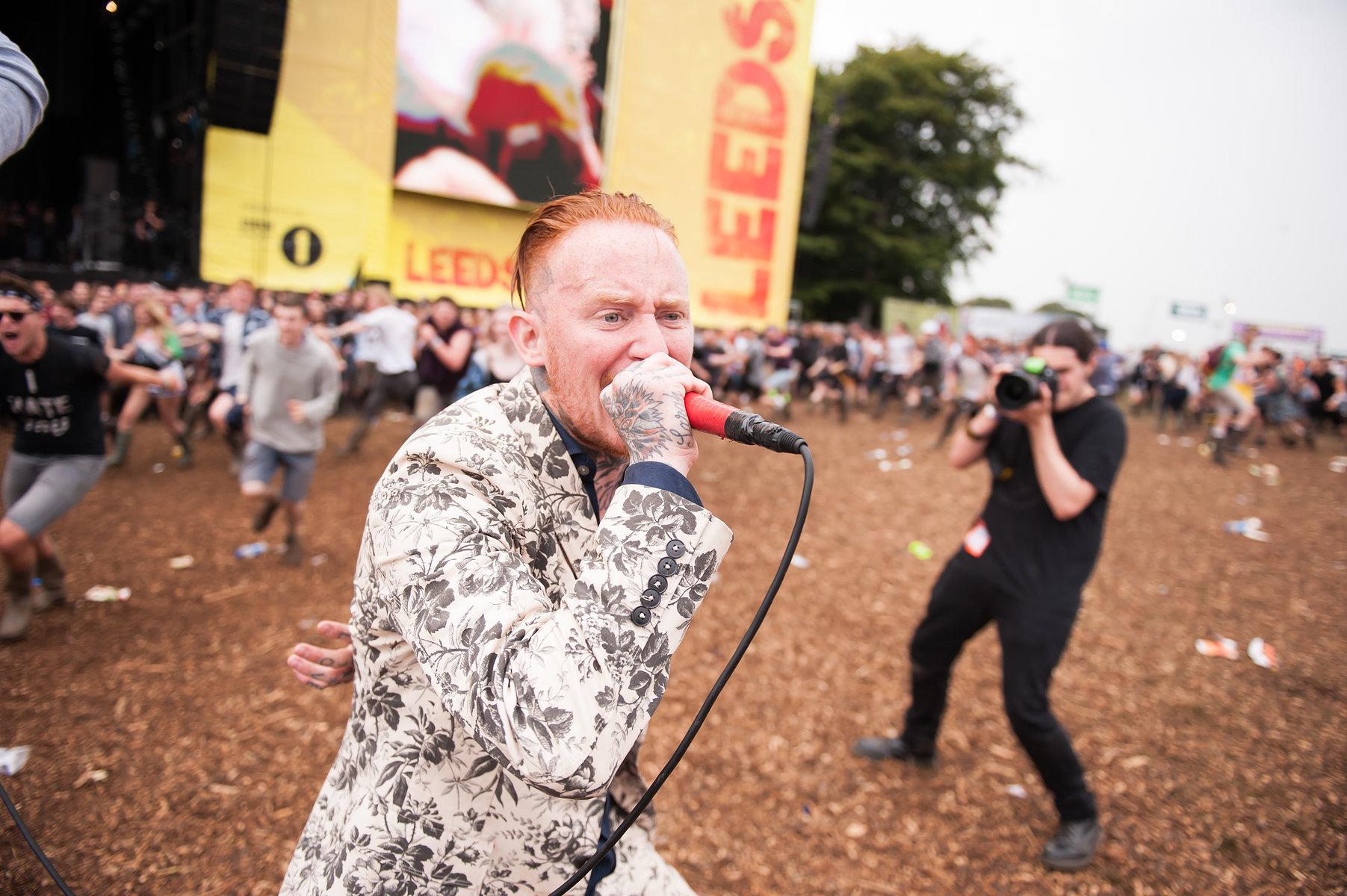 Frank Carter & The Rattlesnakes // Leeds Festival 2016