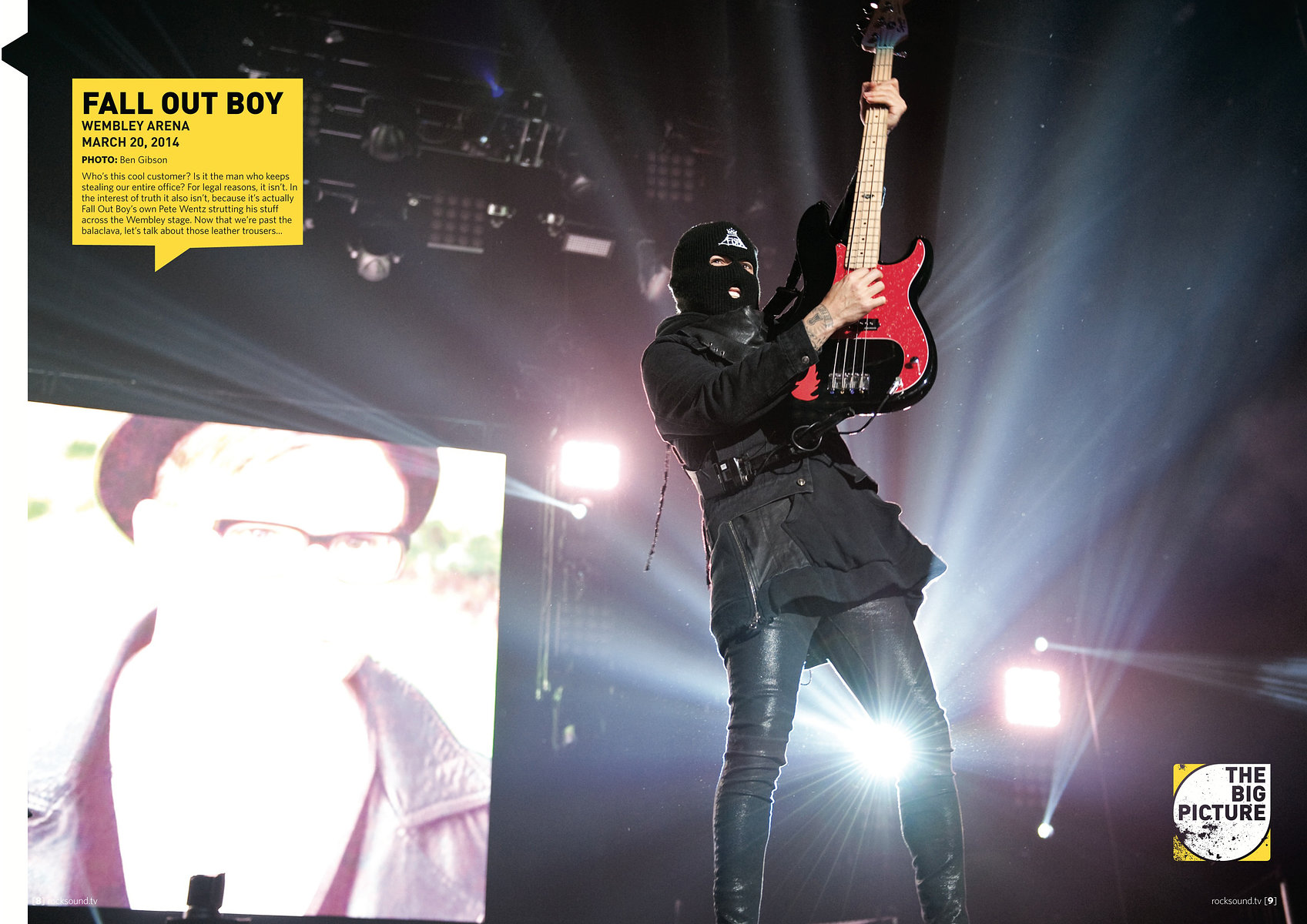 Fall Out Boy // Rock Sound, June 2014
