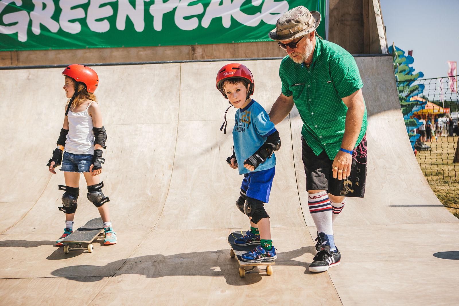 Greenpeace Skateboarding