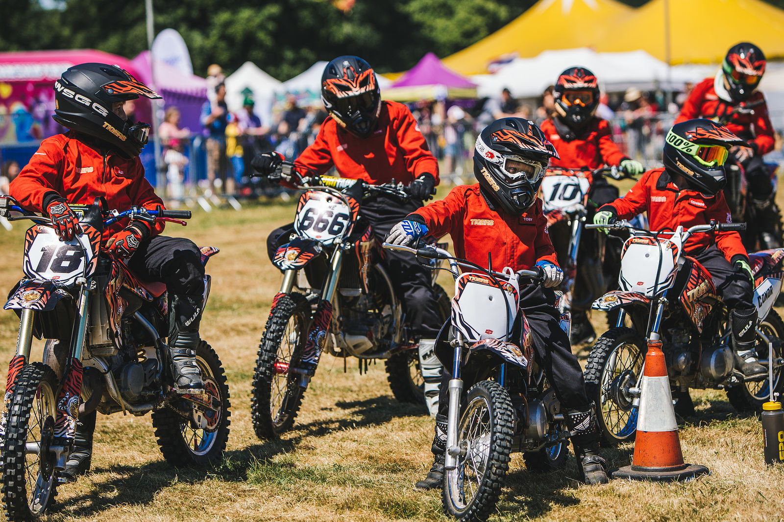 The Tigers Motorcycle Display