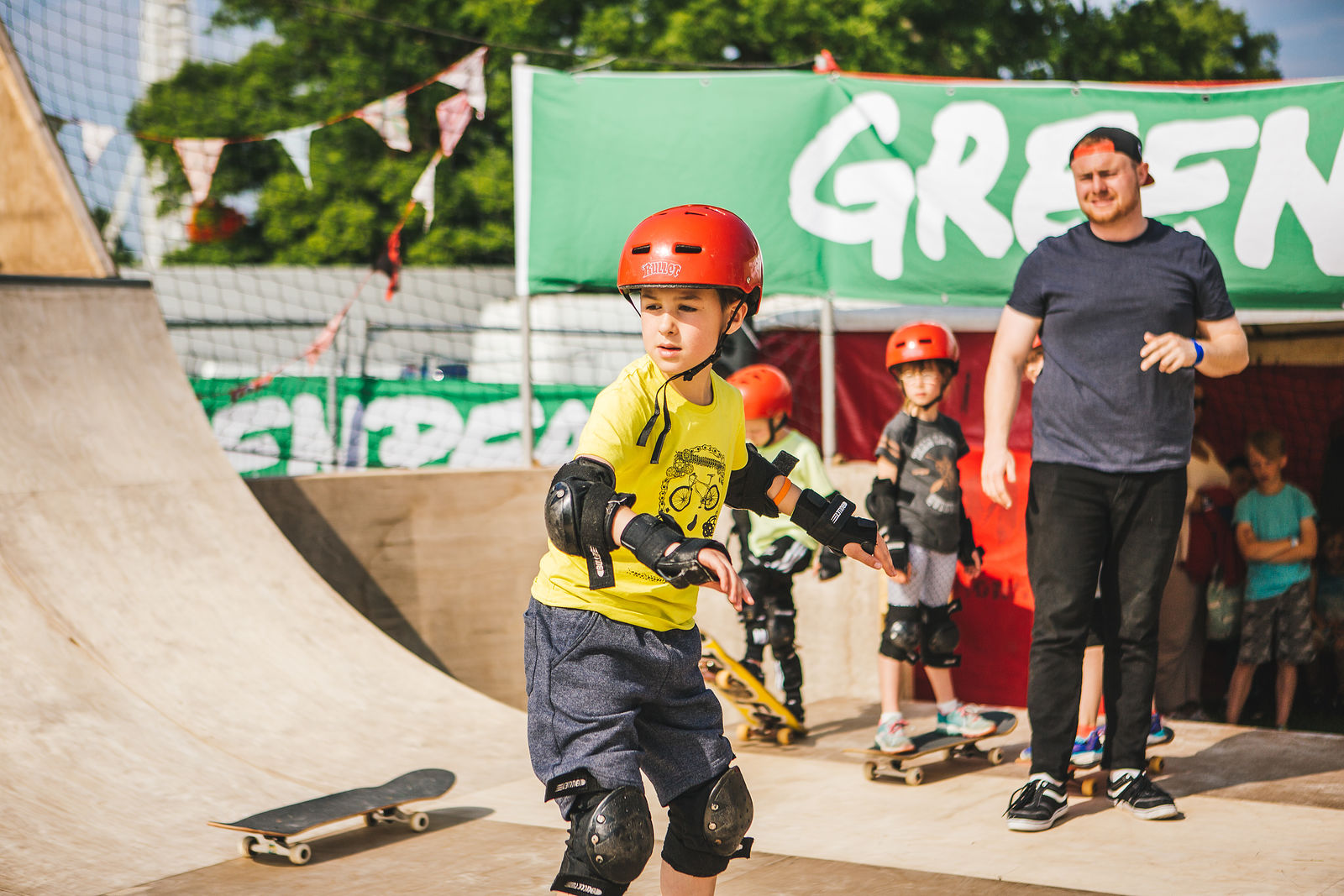 Greenpeace Skate Ramp