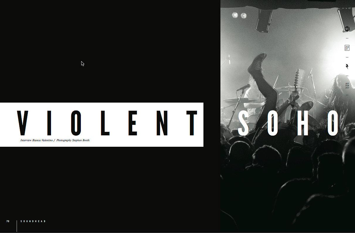 Violent Soho - No Cure Magazine