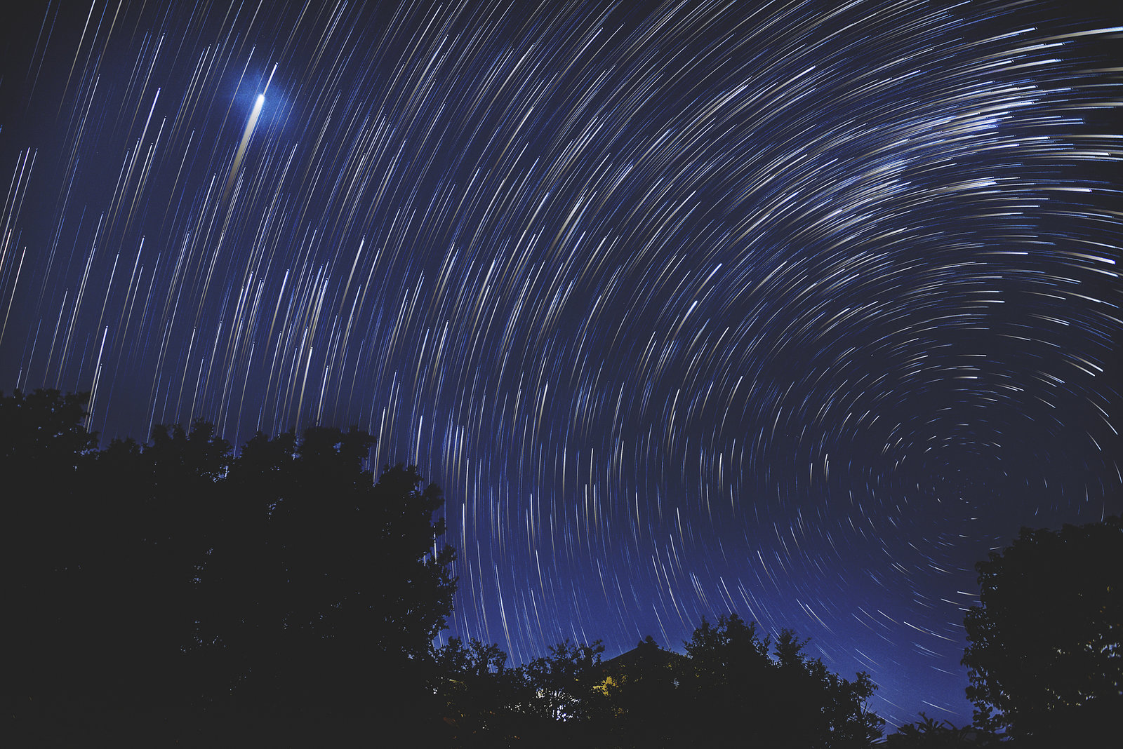 Jupiter / Startrails