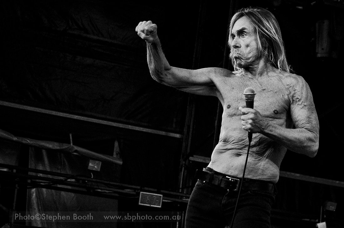 Iggy Pop - The Stooges - January 2011