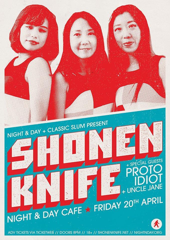 Shonen Knife Poster 2018