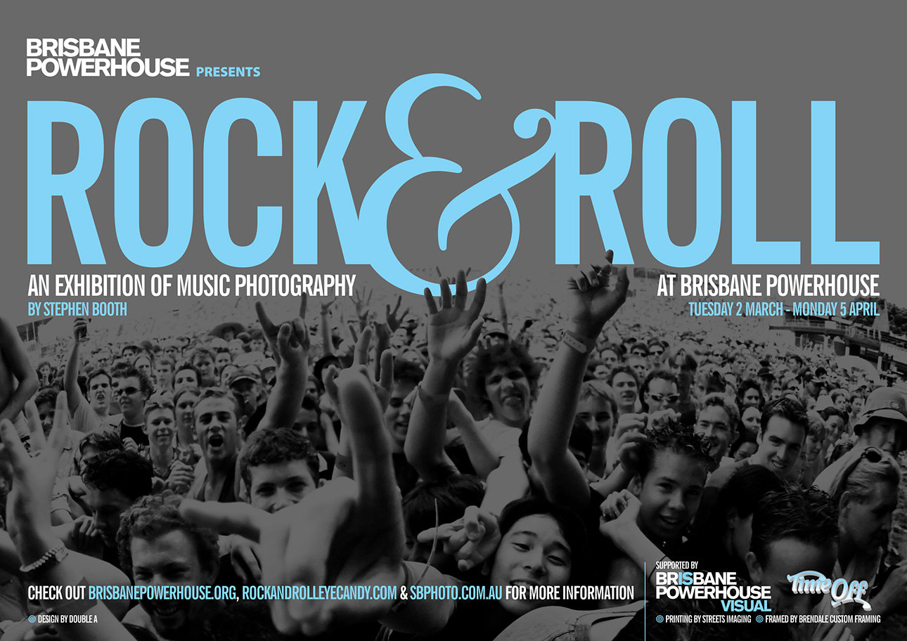Rock & Roll - My solo show at The Brisbane Powerhouse