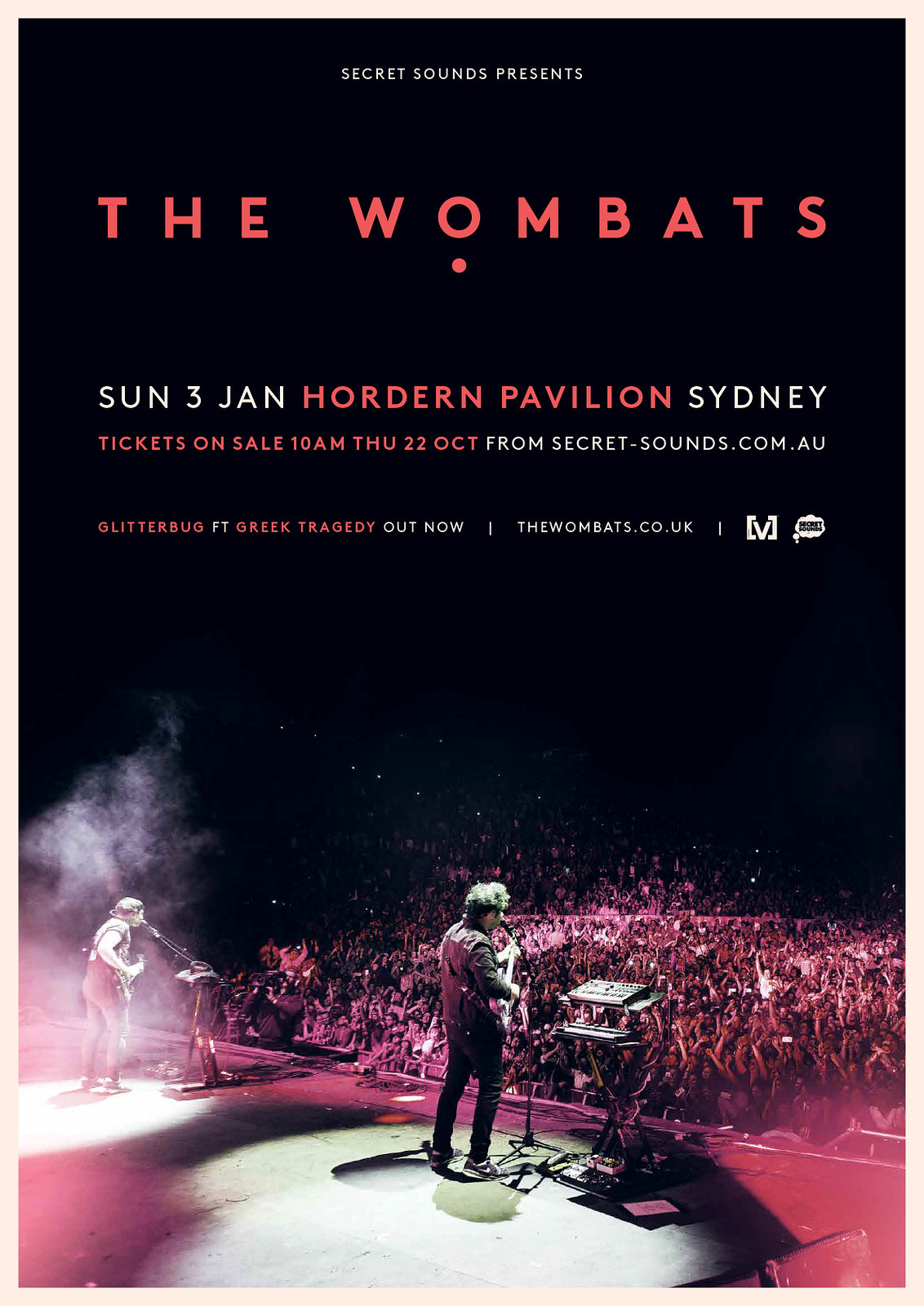 The Wombats - 2016 Tour Poster
