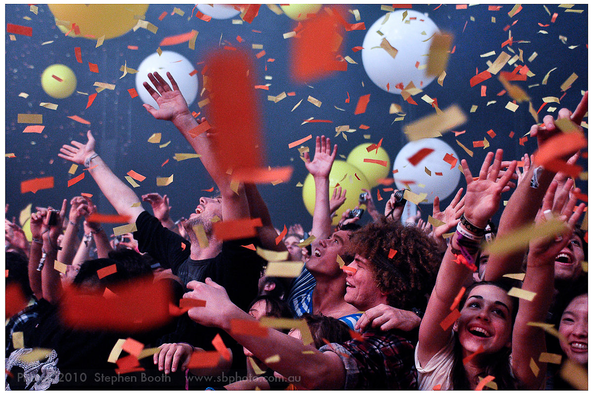 Flaming Lips Crowd - 2009