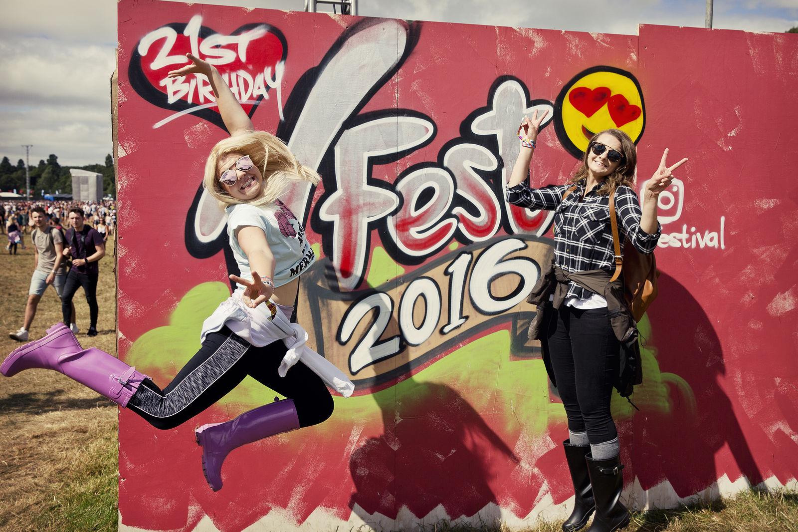 V Festival 2016 - JUMP! Bianca Barrett