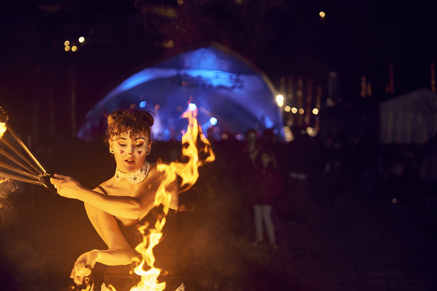 Fire performer - LMF