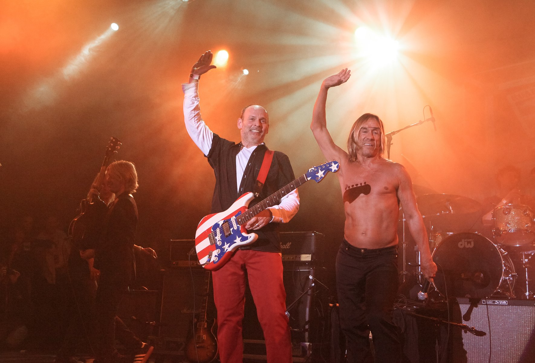 Wayne Kramer & Iggy Pop